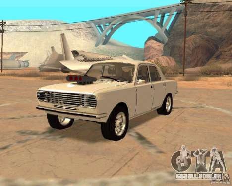 GAZ Volga 2410 Hot Road para GTA San Andreas vista direita