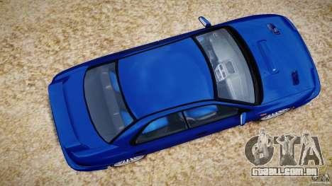 Subaru Impreza WRX STI 1999 v1.0 para GTA 4 vista direita