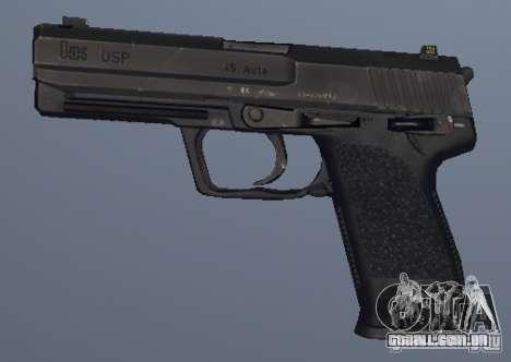 USP .45 para GTA San Andreas segunda tela