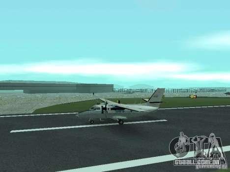 Let L-410 para GTA San Andreas esquerda vista
