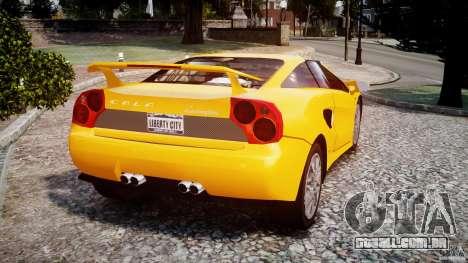Lamborghini Cala para GTA 4 traseira esquerda vista