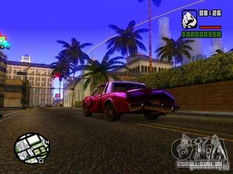 Timecyc BETA 2.0 para GTA San Andreas segunda tela