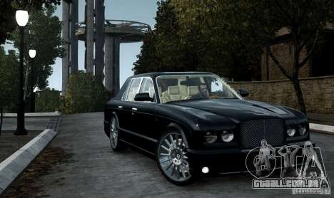 Bentley Arnage T v 2.0 para GTA 4