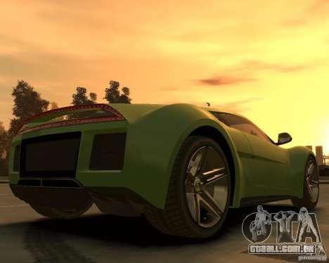2010 Saleen S5S Raptor para GTA 4 traseira esquerda vista