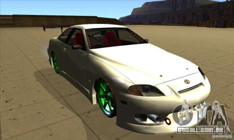 Toyota Soarer para GTA San Andreas vista traseira