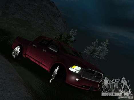Dodge Ram 1500 Longhorn 2012 para GTA San Andreas vista direita
