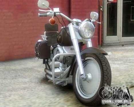 Harley Davidson FLSTF Fat Boy para GTA 4