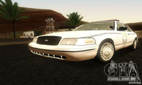 Ford Crown Victoria Ohio Police para GTA San Andreas