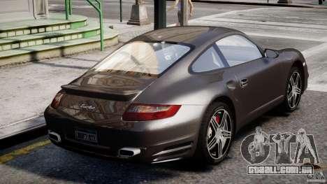 Porsche 911 Turbo para GTA 4 vista inferior