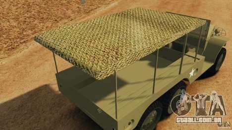 Dodge WC-62 3 Truck para GTA 4 interior