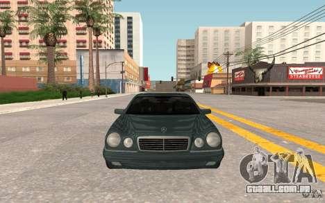 Mercedes Benz E420 W210 para GTA San Andreas esquerda vista