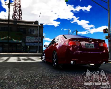 Honda Accord Tuning by Type-S para GTA 4 esquerda vista