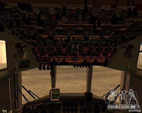 C-130 hercules para o motor de GTA San Andreas