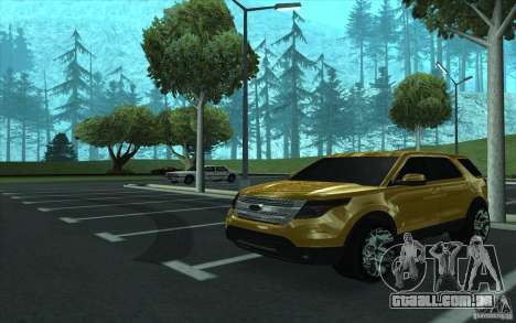 Ford Explorer Limited 2013 para GTA San Andreas vista interior