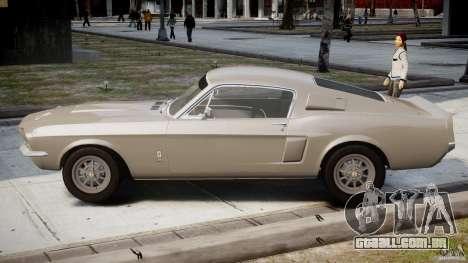 Shelby GT500 1967 para GTA 4 esquerda vista