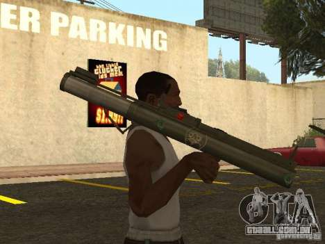 LAW Rocket launcher para GTA San Andreas terceira tela