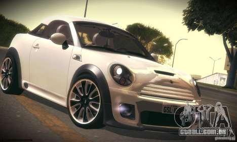 Mini Concept Coupe 2010 para GTA San Andreas esquerda vista