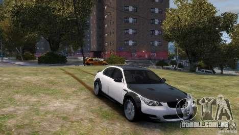 BMW M5 Lumma para GTA 4 traseira esquerda vista
