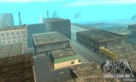 New Island para GTA San Andreas por diante tela