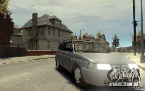 Lada ВАЗ 2111 para GTA 4 vista de volta