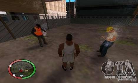 NEW STREET SF MOD para GTA San Andreas segunda tela