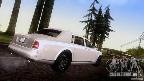 Rolls Royce Phantom Hamann para GTA San Andreas esquerda vista