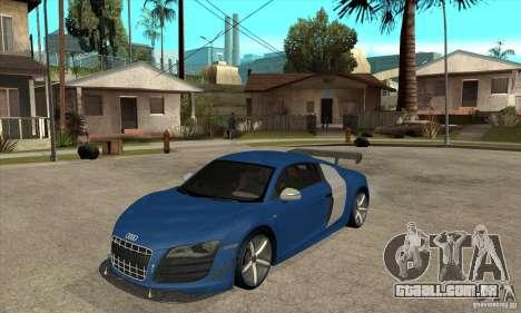 Audi R8 V10 v2 para GTA San Andreas