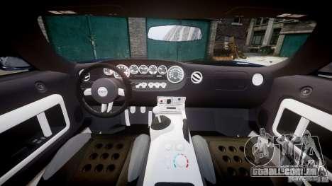 Ford Hennessey GT1000 2006 v2.0 EPM para GTA 4 vista direita