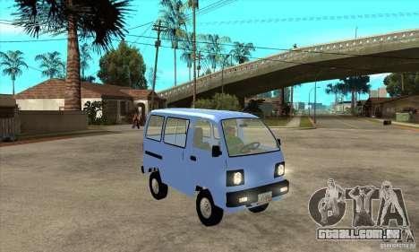 Suzuki Carry 1993 para GTA San Andreas vista traseira