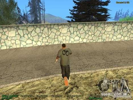 DMX para GTA San Andreas segunda tela