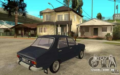 Dacia 1300 v2 para GTA San Andreas vista direita