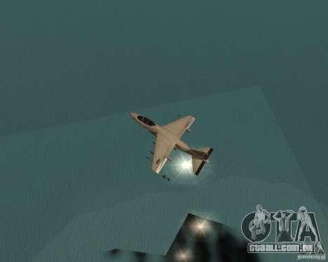 Cluster Bomber para GTA San Andreas quinto tela