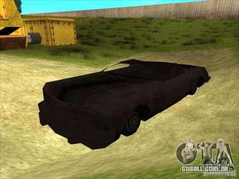 Real Ghostcar para GTA San Andreas