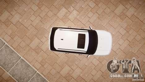 Range Rover Sport Supercharged v1.0 2010 para GTA 4 vista de volta