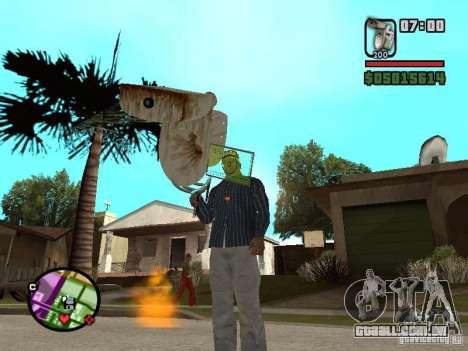 Vaso sanitário para GTA San Andreas segunda tela