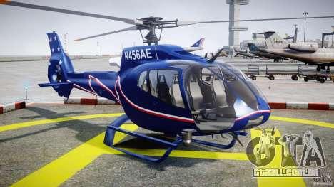 Eurocopter EC130B4 NYC HeliTours REAL para GTA 4 vista de volta