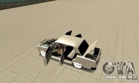 Abrir ou fechar o porta-malas para GTA San Andreas segunda tela