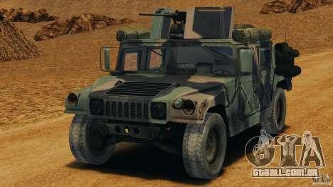 HMMWV M1114 v1.0 para GTA 4