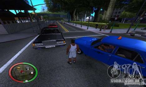 NEW STREET SF MOD para GTA San Andreas quinto tela