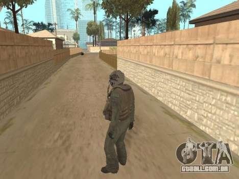 Aviões de caça para GTA San Andreas terceira tela