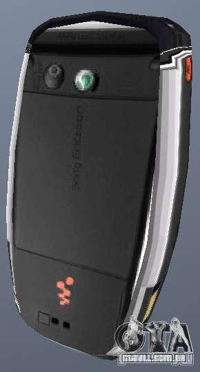 Sony Ericsson W880i para GTA San Andreas segunda tela