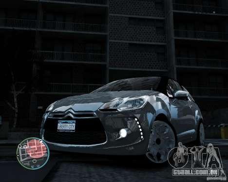 Citroen DS3 2011 para GTA 4