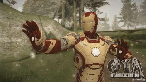 Iron Man Mark 42 para GTA San Andreas segunda tela