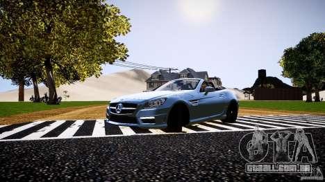 Mercedes-Benz SLK 2012 para GTA 4 esquerda vista