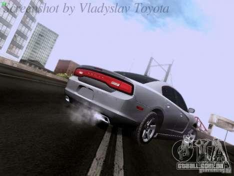 Dodge Charger 2013 para GTA San Andreas vista direita