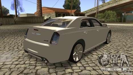 Chrysler 300 SRT-8 2011 V1.0 para GTA San Andreas vista direita