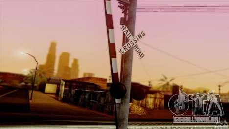 SA Beautiful Realistic Graphics 1.5 para GTA San Andreas nono tela