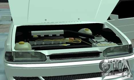 ВАЗ 2114 Tuning para GTA San Andreas vista interior