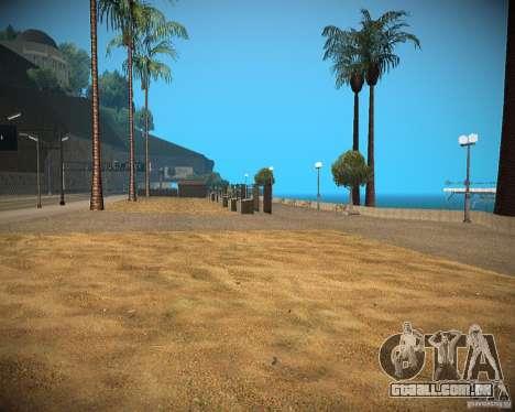 New textures beach of Santa Maria para GTA San Andreas segunda tela