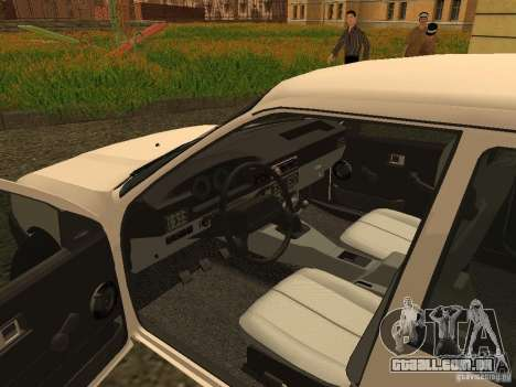 IZH 2126 para GTA San Andreas vista traseira